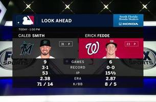 caleb smith looks to help marlins bounce back vs. nats