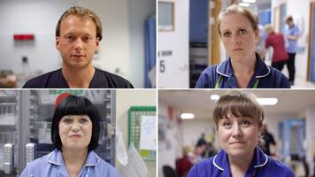 nhs violence: nurses talk of attacks by patients in hospital