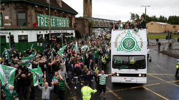 celtic parade curtailed over safety fears