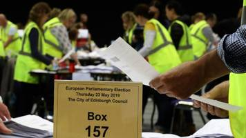 first scottish results announced in eu election