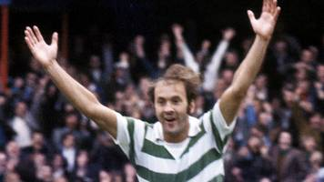 harry hood: former celtic, clyde and sunderland forward harry hood dies