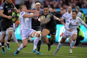 rugby rumours and transfer news: leicester tigers and harlequins chase sinoti sinoti; wasps find wade replacement; quins winger heading to italy