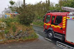 st austell firefighters warn methodist chapel could have burnt to the ground