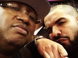 """look: e-40 can't wait for his warriors to face-off against drake's raptors – """"so it begins!"""""""