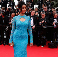 did mallika sherawat repeat her cannes 2014 dress at cannes 2019 red carpet?