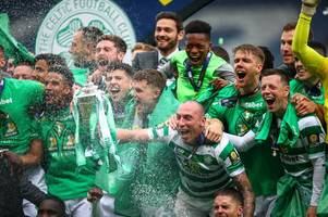 'celtic the only name that matters in scotland' the world reacts to treble treble