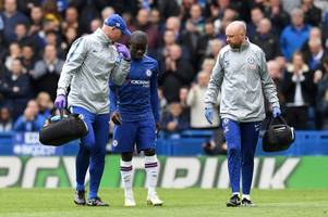 n'golo kante to miss chelsea's europa league final with arsenal through injury
