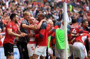 wales fans are all saying the same thing after jonny williams helps charlton beat sunderland at wembley