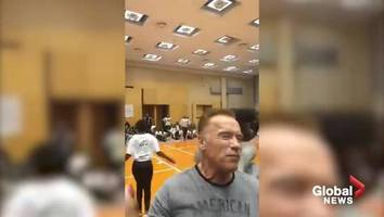 arnold schwarzenegger offers to help 102-year-old woman facing eviction