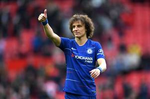 david luiz delivers unai emery warning ahead of chelsea's europa league final with arsenal