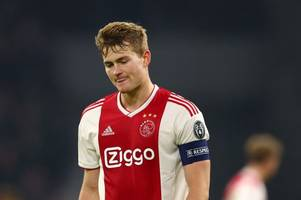 transfer news live: man utd offered matthijs de ligt update, chelsea boost, arsenal exit?