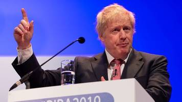tory leadership: johnson says party on 'final warning'