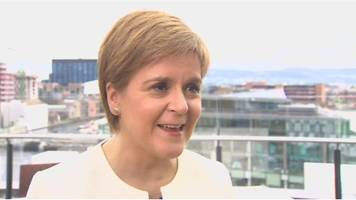 nicola sturgeon: eu result emphatic rejection of brexit