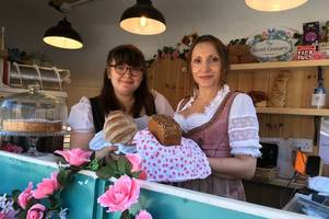 tasty! german artisan baker sets up shop - in north staffordshire (and she's now offering 20% discounts)