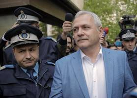 romania ruling party boss gets 3½ years in prison for graft