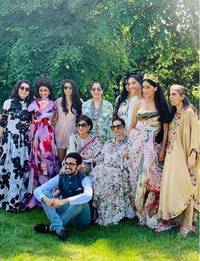 photos: sonam kapoor shares vibrant pictures from her cousin's wedding in london