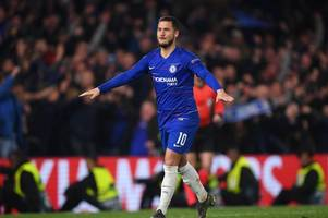 unai emery makes big eden hazard claim ahead of europa league final vs chelsea