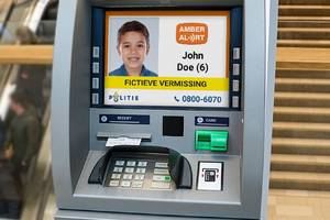 atms in the netherlands have started showing missing children alerts