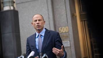 michael avenatti pleads not guilty in multiple cases