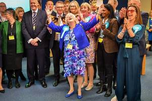 european elections 2019: full gloucestershire, south west and national results, list of new meps