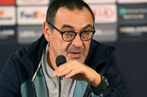 chelsea press conference live: sarri on the europa league final vs arsenal & kante injury update