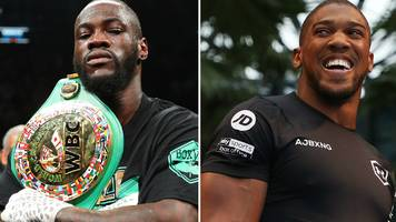 anthony joshua v andy ruiz jr: briton wants chat with deontay wilder to clear path for fight