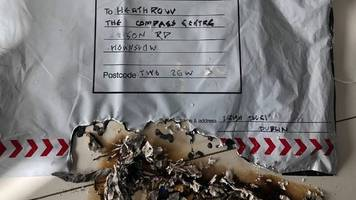 heathrow parcel bomb linked to 2014 letter bombs by police