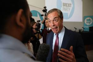 brexit party triumph in bassetlaw as labour and tories flop at european elections