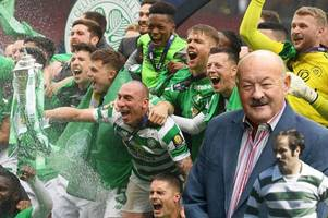 celtic legend harry hood watched team win treble treble hours before he passed away