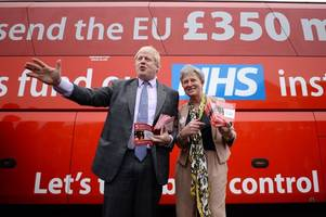boris johnson to face court over claims made during brexit referendum campaign