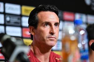 every word from unai emery on chelsea loss and arsenal's transfer plans without champions league