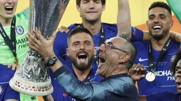 chelsea manager maurizio sarri: 'i deserve to stay'