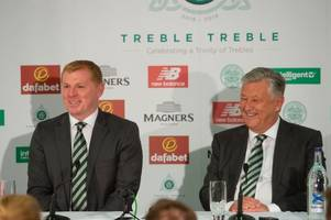 watch neil lennon's celtic press conference in full as he admits fans expect another treble
