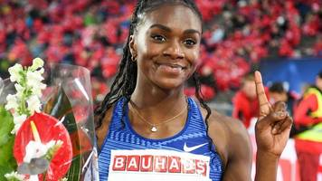 dina asher-smith 'destroys' elaine thompson and dafne schippers in the 200m in stockholm
