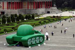 china still gets annoyed with images showing the famous tiananmen square 'tank man,' 30 years after he became a symbol of the government's brutality