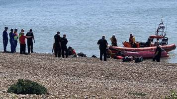 channel migrants: border force dealing with several boats