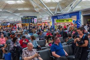 stansted airport: 190 spurs fans to miss champions league final after delayed flight