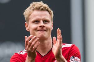 gary mackay-steven boost for aberdeen as new york city 'end search' for winger