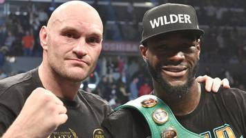 deontay wilder v tyson fury rematch 'officially on'