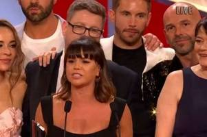 the full list of all the winners at the british soap awards 2019