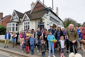 redhill's oldest pub the white lion wins stay of execution as councillors throw out plans