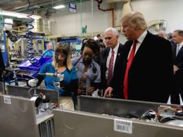 american manufacturing activity just dropped to its slowest pace since trump took office