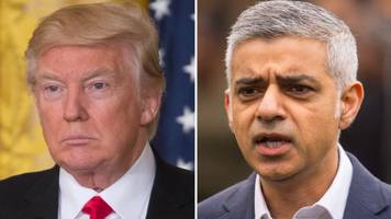 donald trump calls mayor of london sadiq khan a 'stone cold loser'