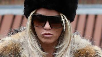 katie price admits shouting abuse in shipley school playground