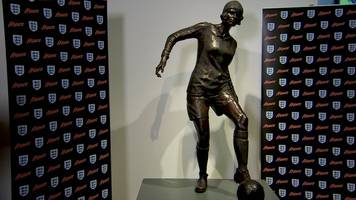 lily parr: first statue for woman footballer unveiled in manchester