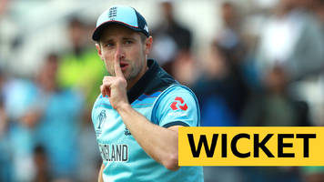 cricket world cup: chris woakes removes imam-ul-haq with diving catch