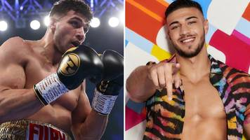 tommy fury: love island contestant can step out of brother tyson's shadow - frank warren