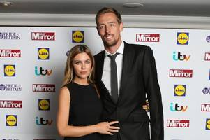 peter crouch announces abbey clancy has given birth to fourth child with incredible tweet