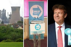 updates as brexit party sets out its british steel strategy in scunthorpe