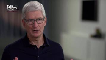 apple's tim cook: users don't want surveillance